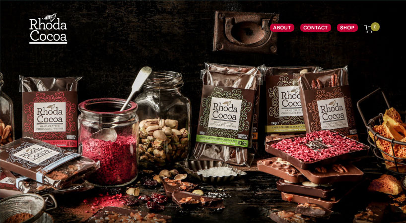 Rhoda Cocoa Website