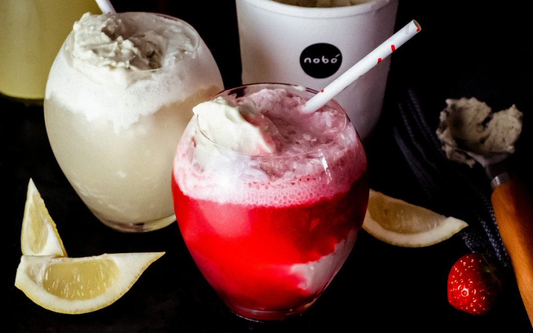 A Vegan Kefir Float to Make You Feel like a Kid (minus the sugar bellyache)