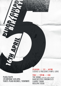 Plugd Birthday Celebrations Poster